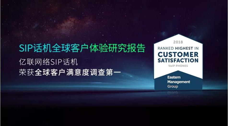 SIP话机全球客户满意度调查