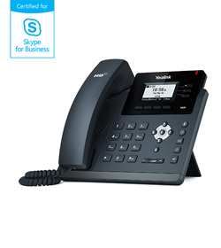 SIP-T40P<br>Skype for Business®版本